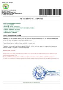 rwanda visa on arrival for nigerians